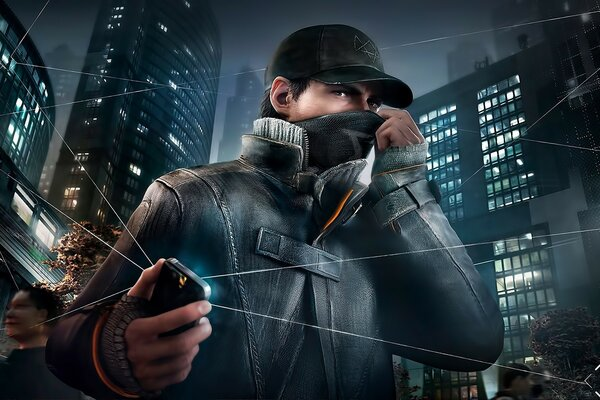 Aiden Pearce Watch Dogs 2014