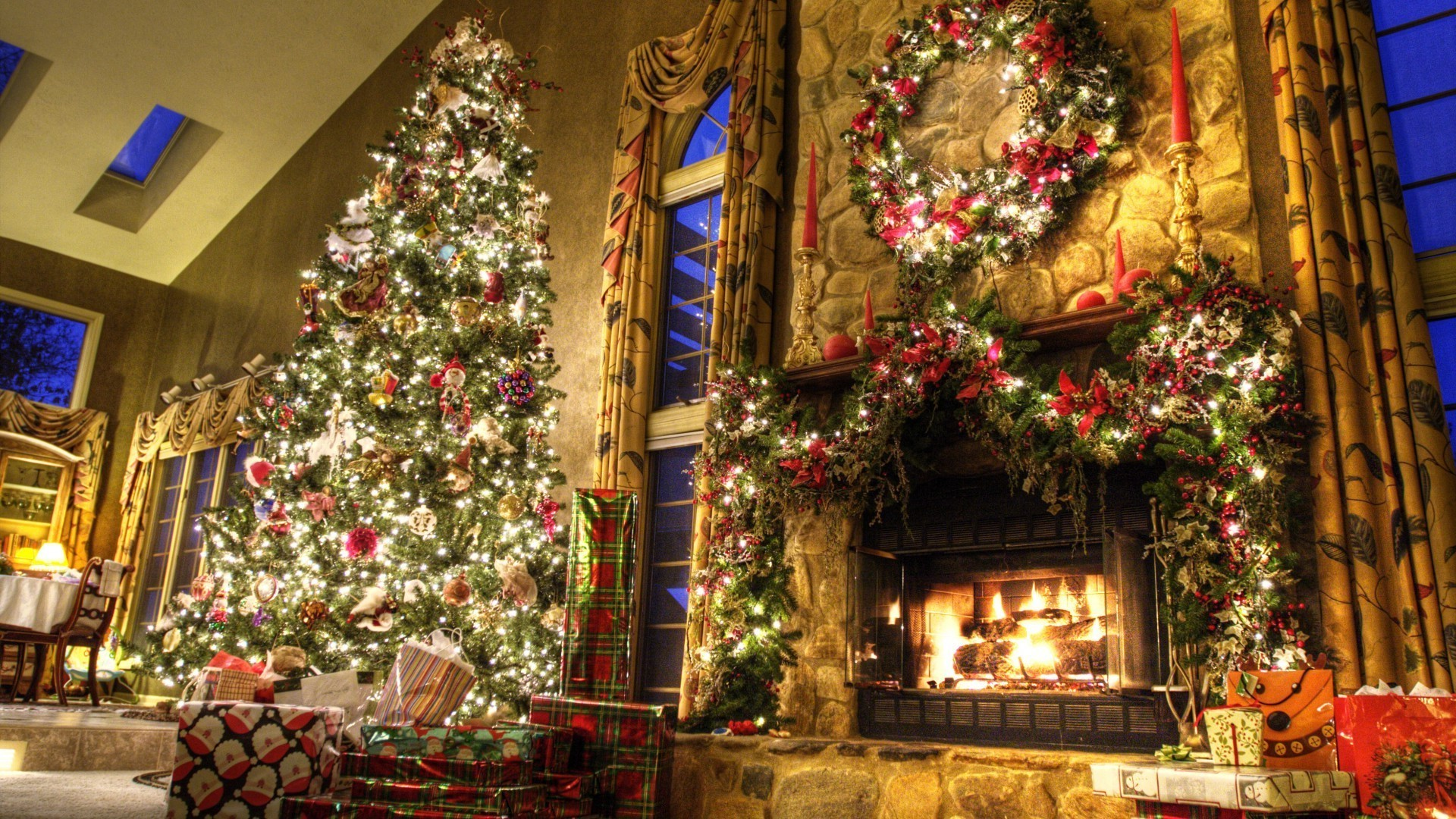 new year christmas christmas tree decoration architecture celebration interior design travel