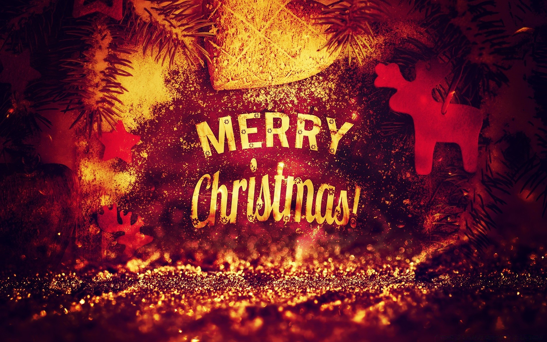 Merry Christmas 2014 by PimpYourScreen. Android wallpapers for free.