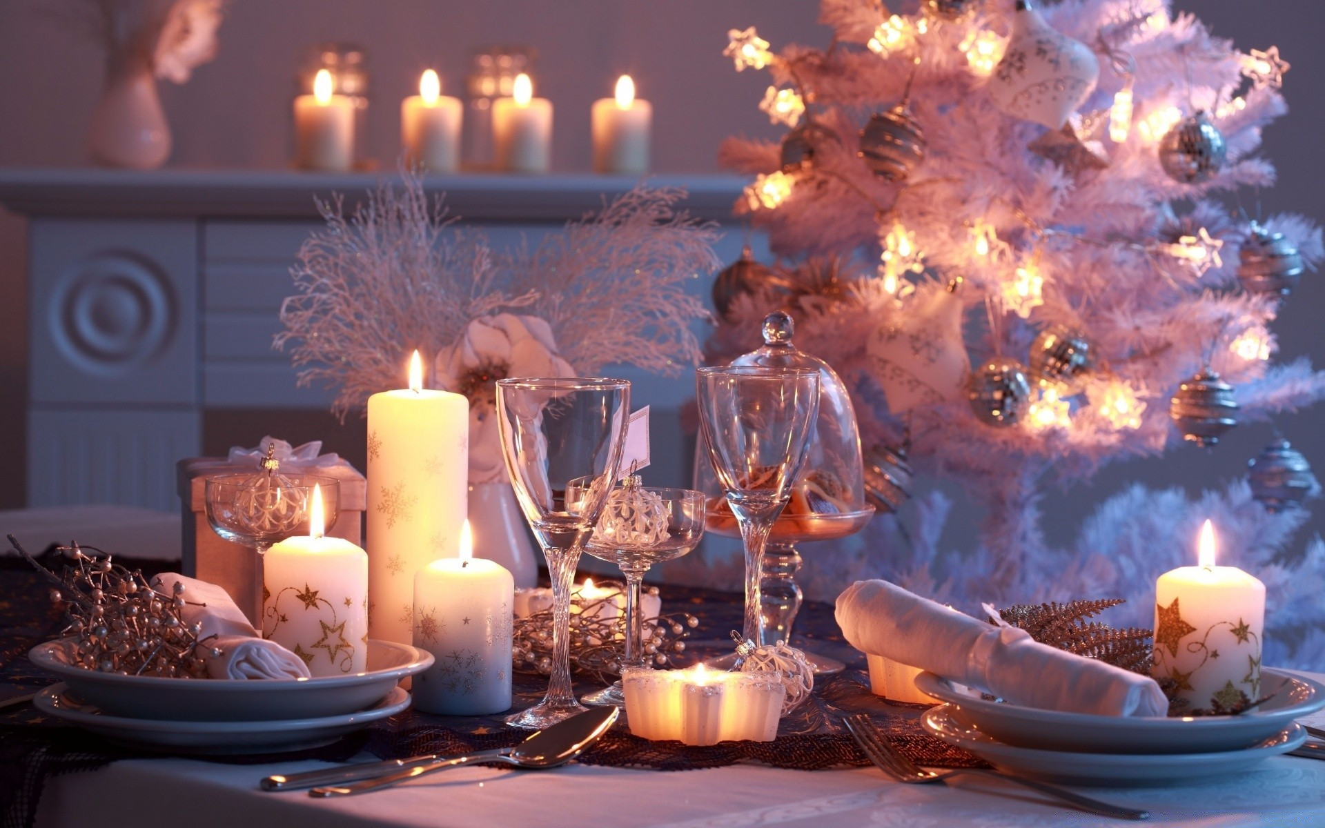 Christmas Dinner Android Wallpapers