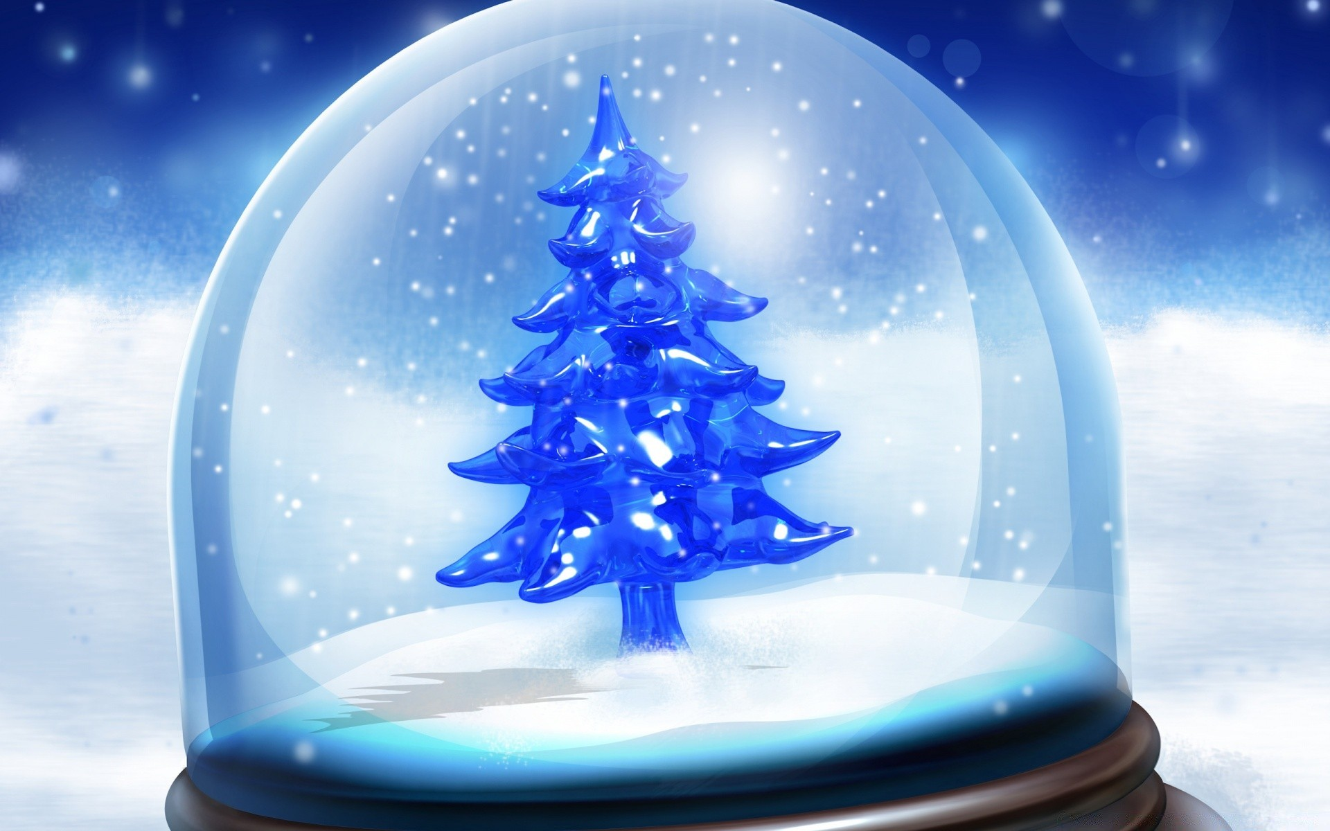 Christmas Snow Globe IPhone Wallpapers For Free