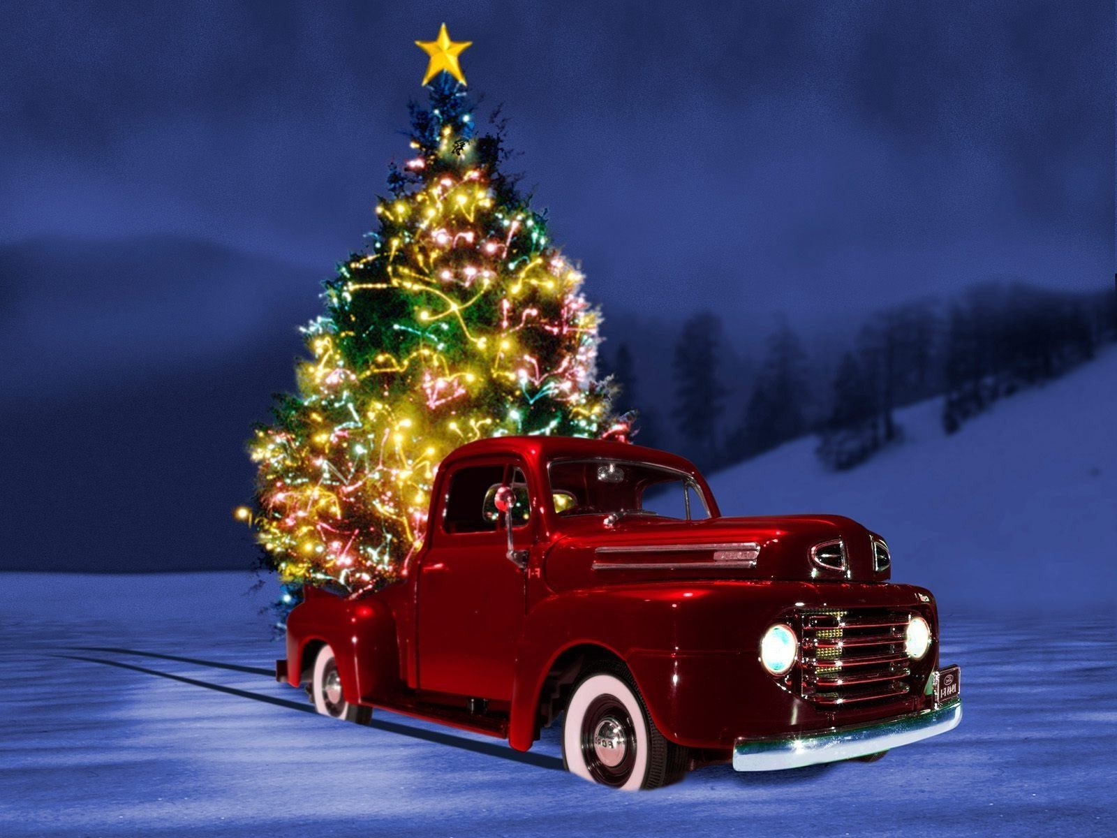 christmas vehicle car winter transportation system fast outdoors