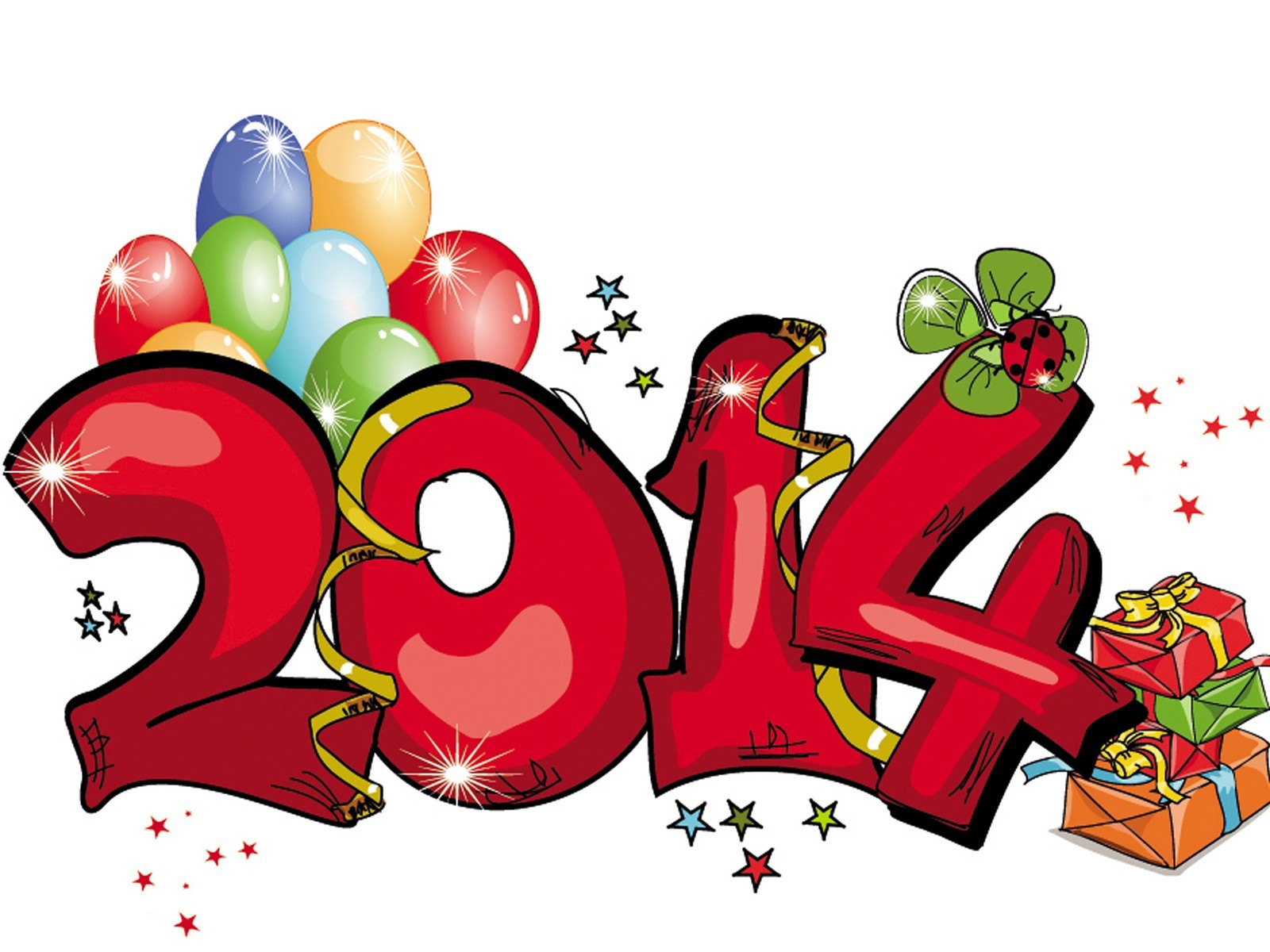 new year illustration sketch vector