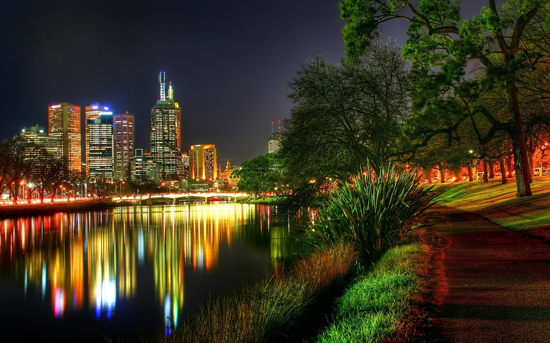 city architecture travel building water cityscape downtown river evening skyline sky urban bridge dusk skyscraper reflection street outdoors light