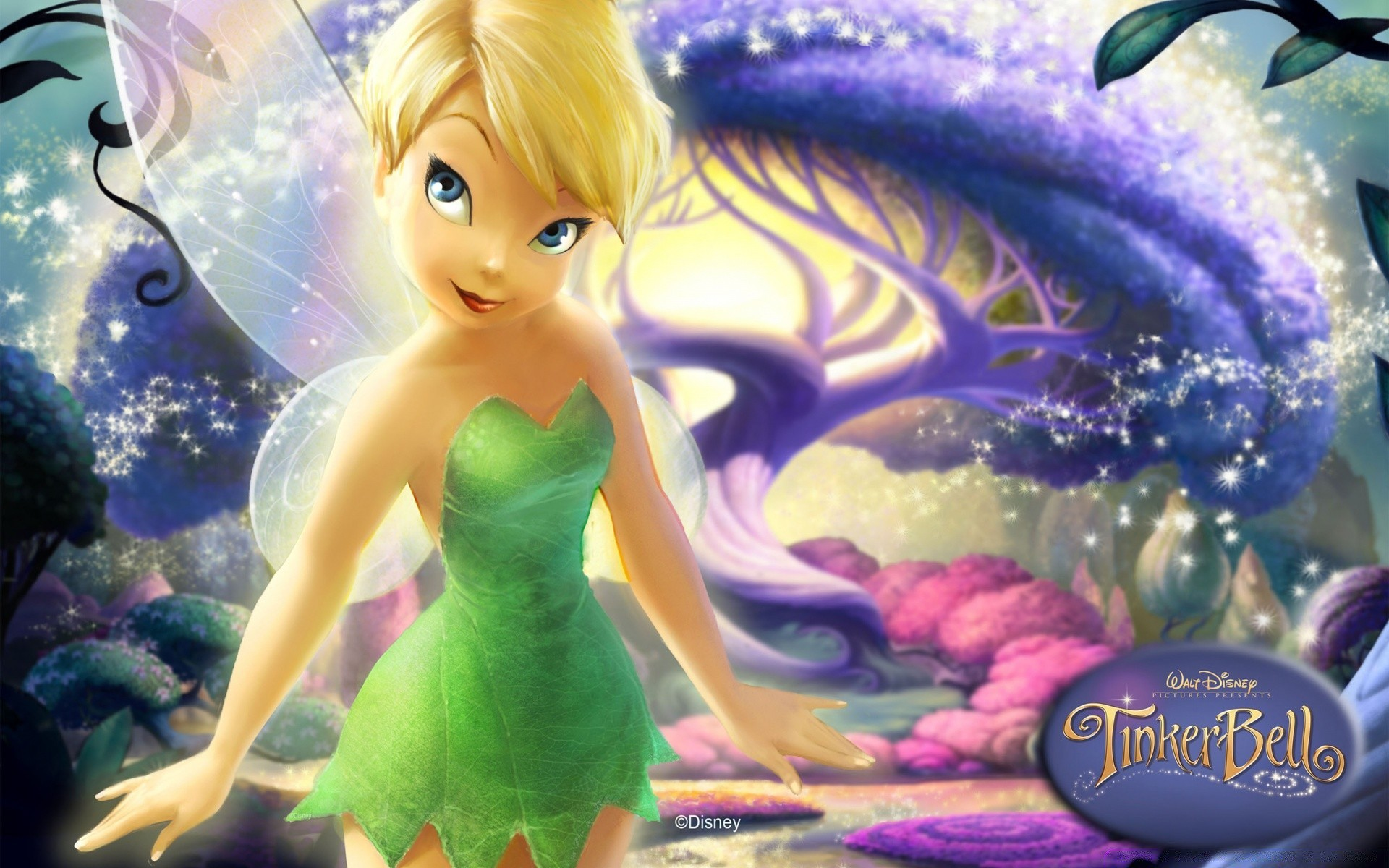 Disney Tinkerbell Iphone Wallpaper