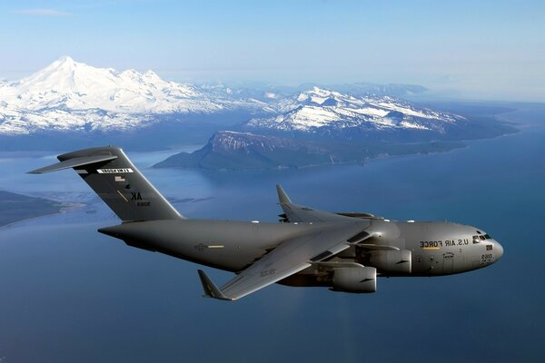 American military transport aircraft