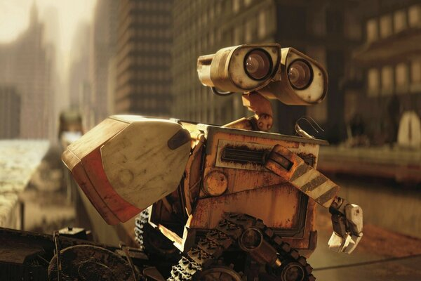 Wall-E In The City
