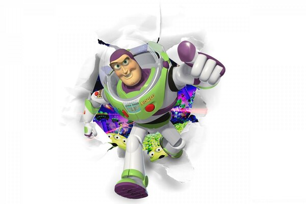 Toy Story, Buzz Lightyear