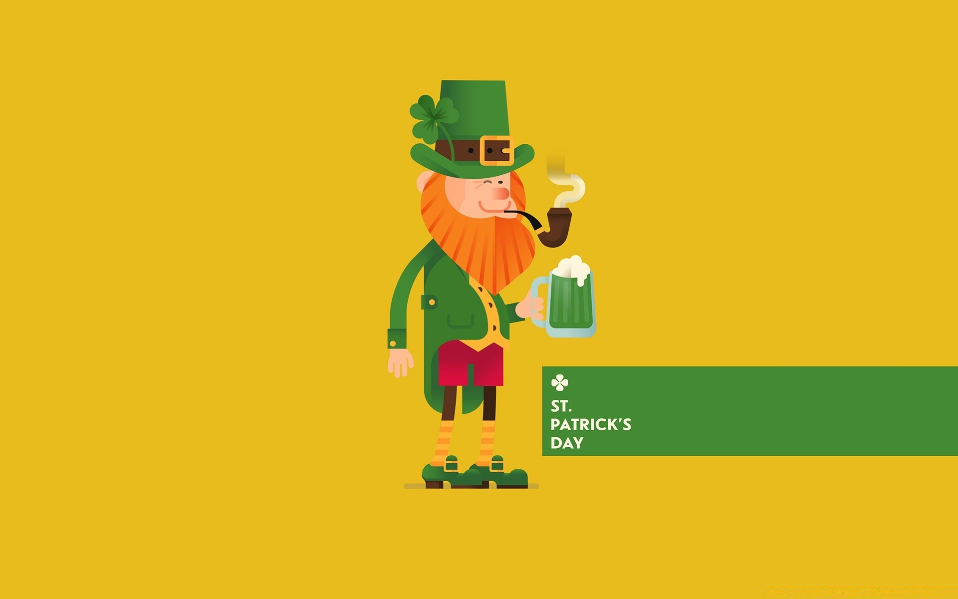St Patricks Day Leprechaun Phone Wallpapers