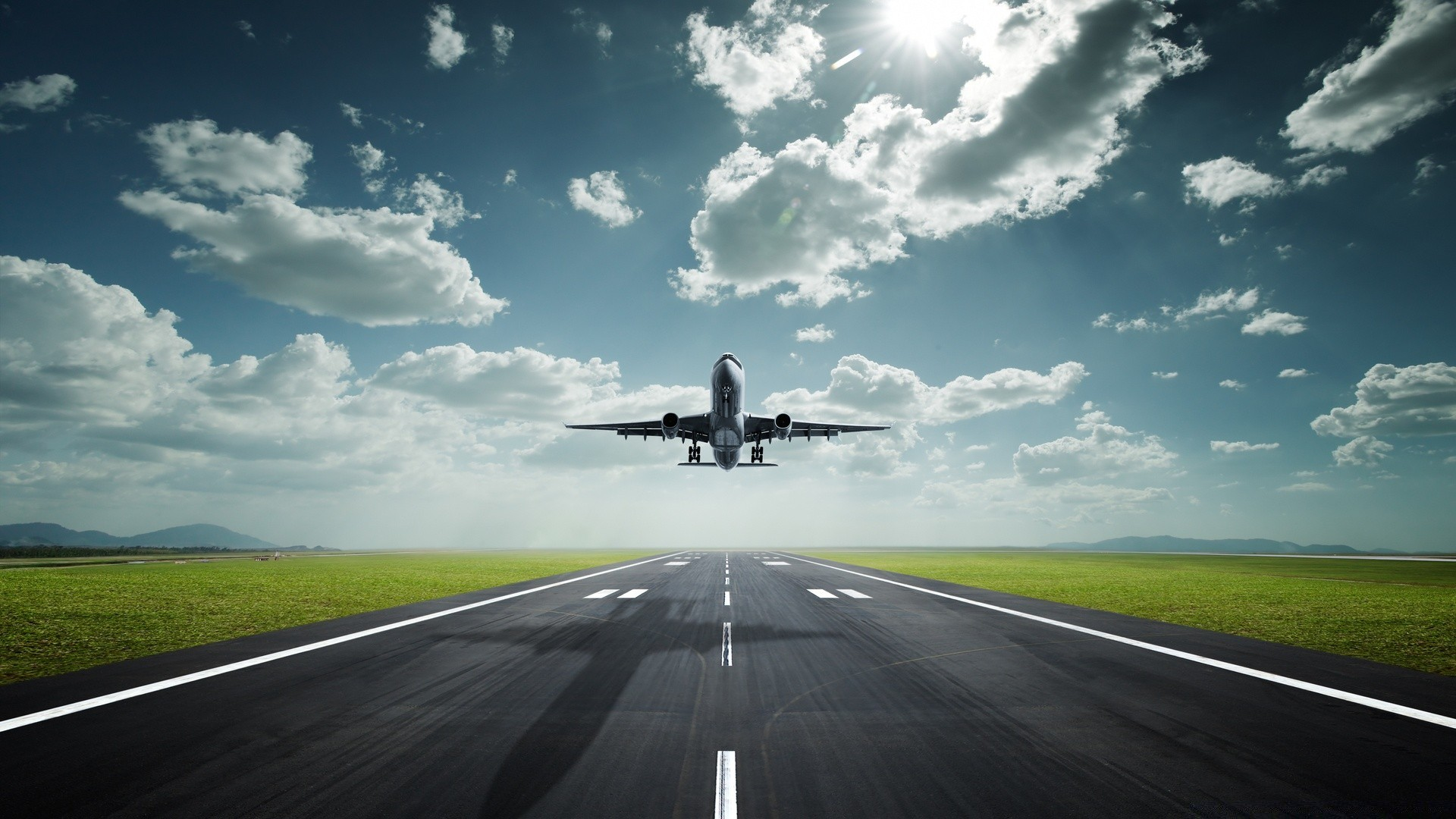 Airplane Take Off Android Wallpapers For Free