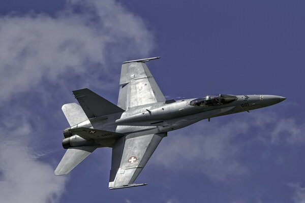 Swiss Aviation F18