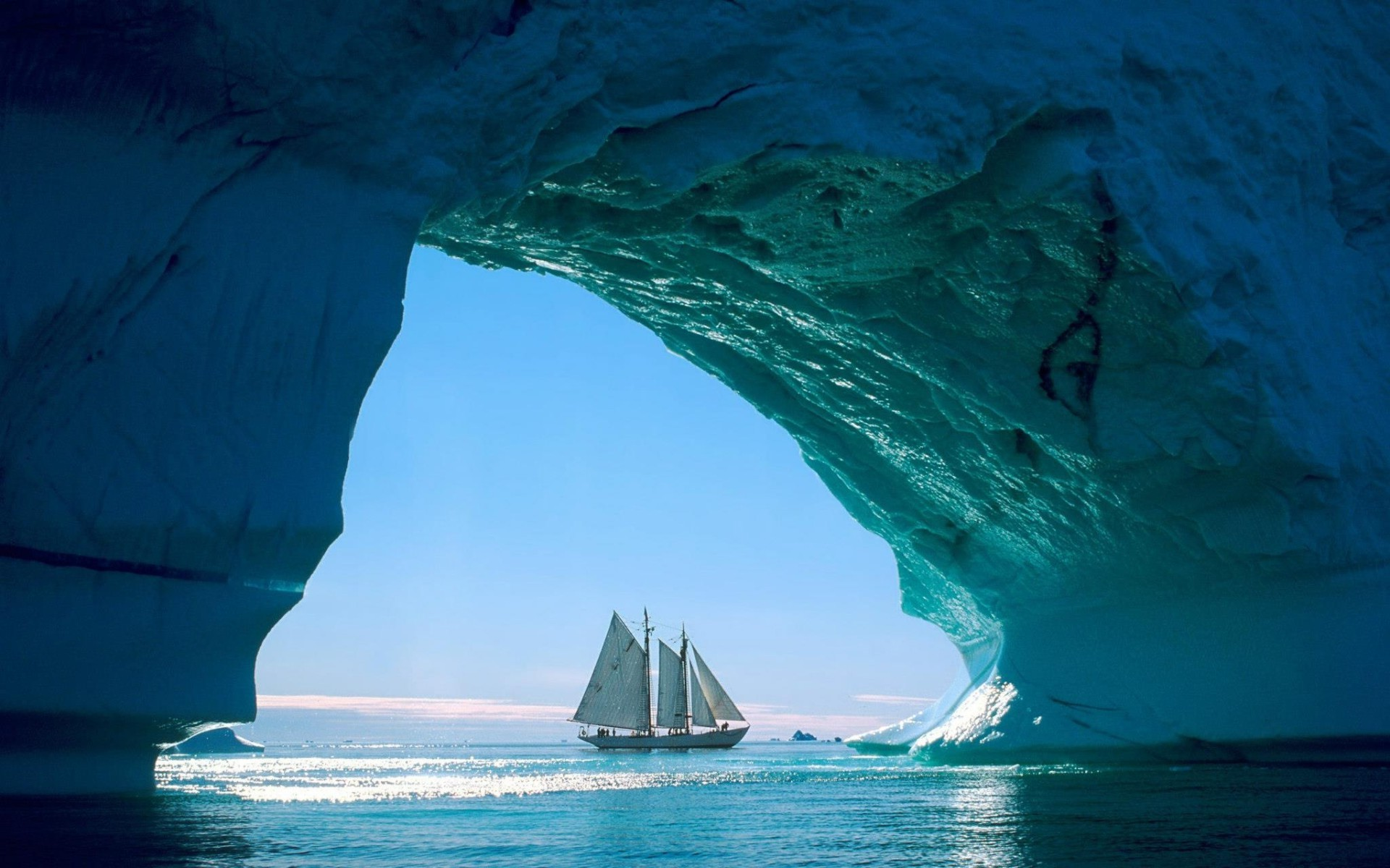 winter water sea ocean nature travel iceberg ice snow outdoors landscape sky