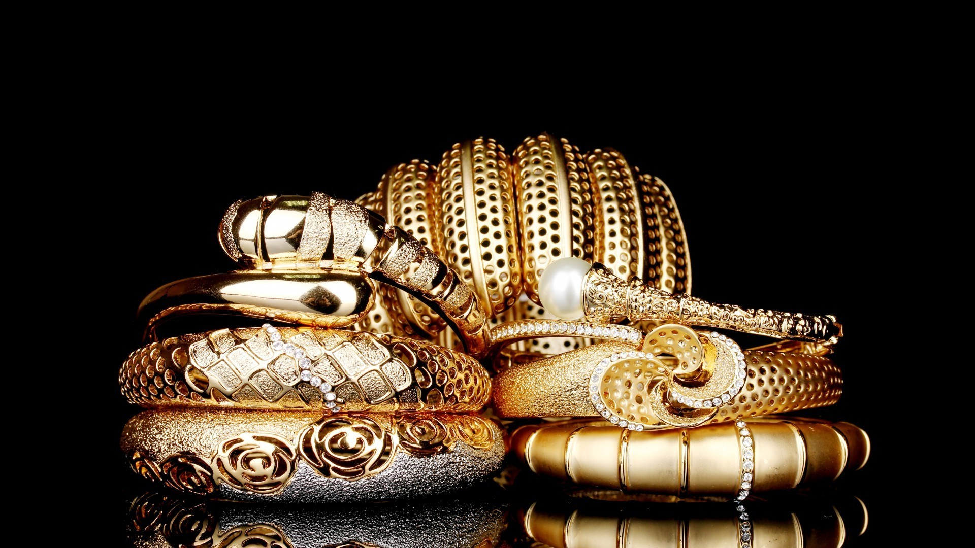 Gold jewelry android wallpapers for free - Gold wallpaper for android ...