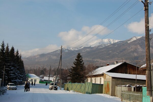 Winter in Angarsk