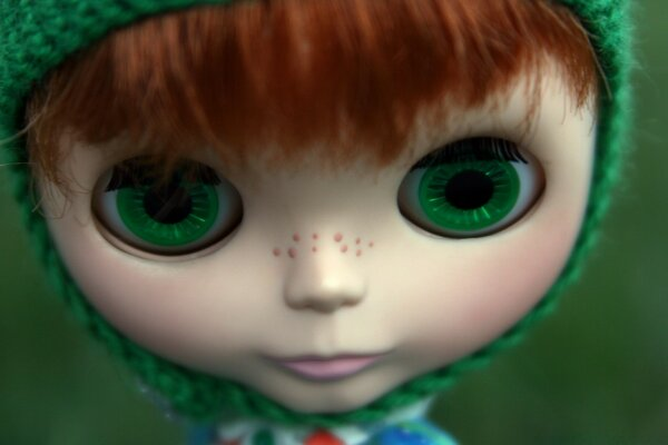 Cute Freckles Doll