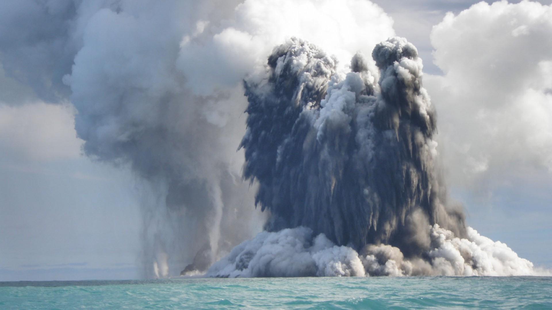 underwater volcano pictures - HD1920×1080