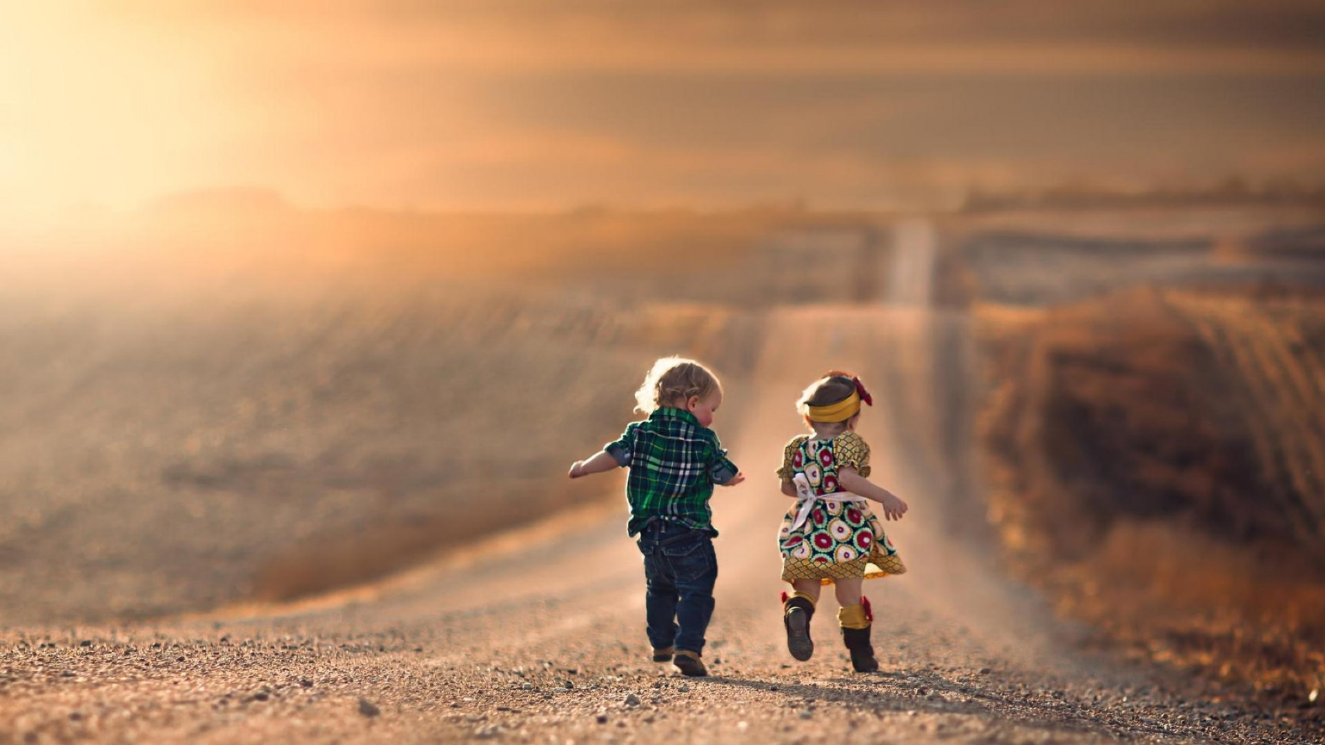 children in nature sunset desert travel child sky dawn landscape sun girl sand outdoors beach