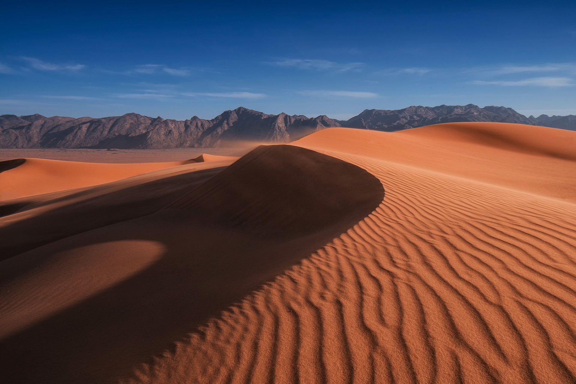 desert sand dune arid dry barren landscape travel hill adventure hot dawn sunset drought alone remote