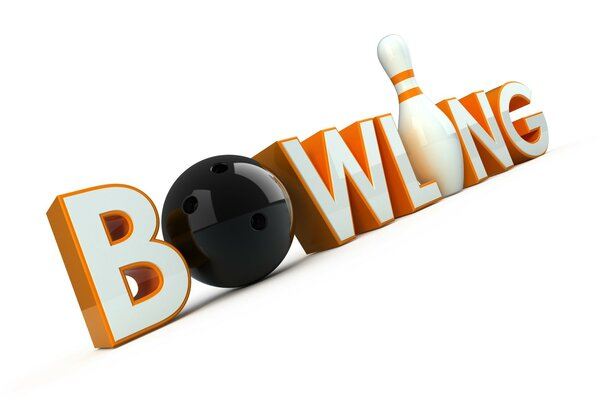 Inscription 3d Bowling