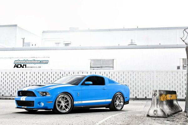 ADV.1 Ford Mustang Shelby Cobra GT 500