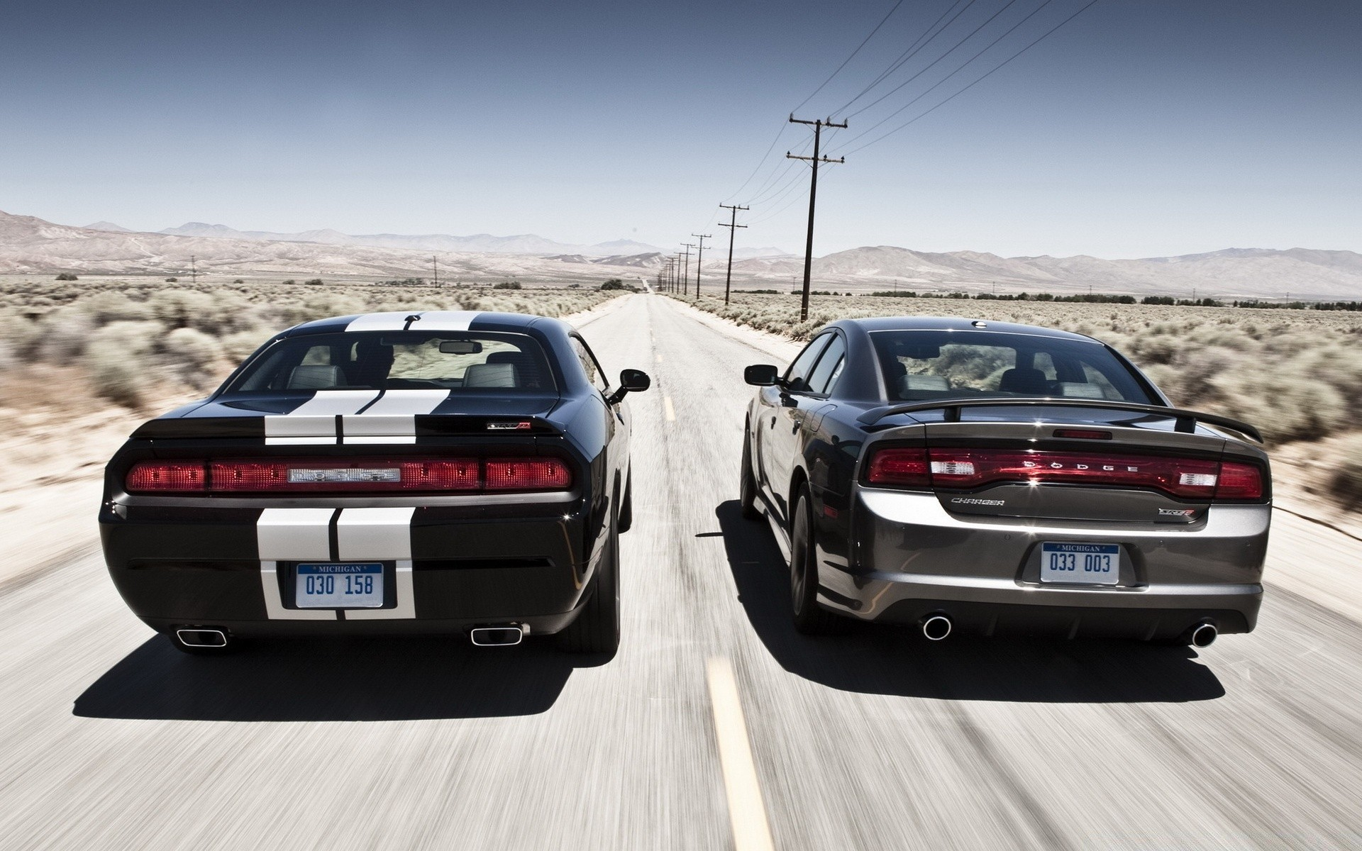 Dodge Muscle Cars Android Wallpapers