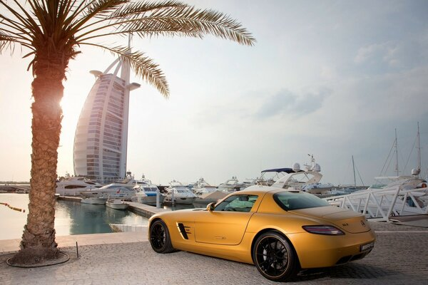 Mercedes Benz SLS Amg in Dubai