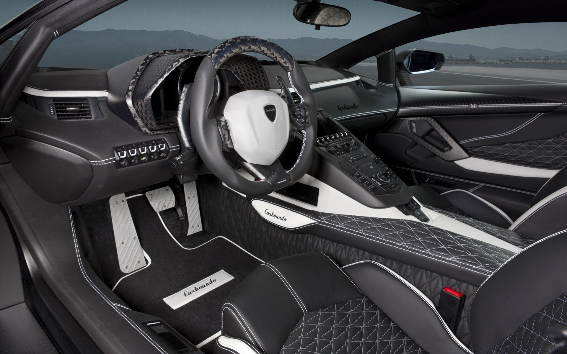 Lamborghini Aventador Lp700 4 Car Interior Phone Wallpapers