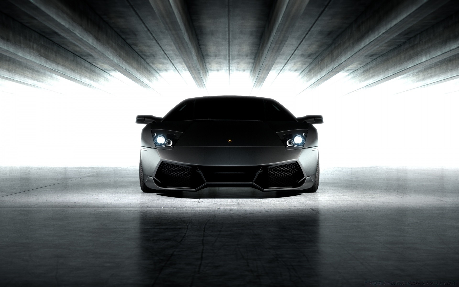 Lamborghini Murcielago LP SV Black wallpaper x