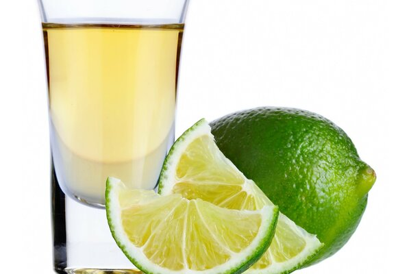 Tequila, lime