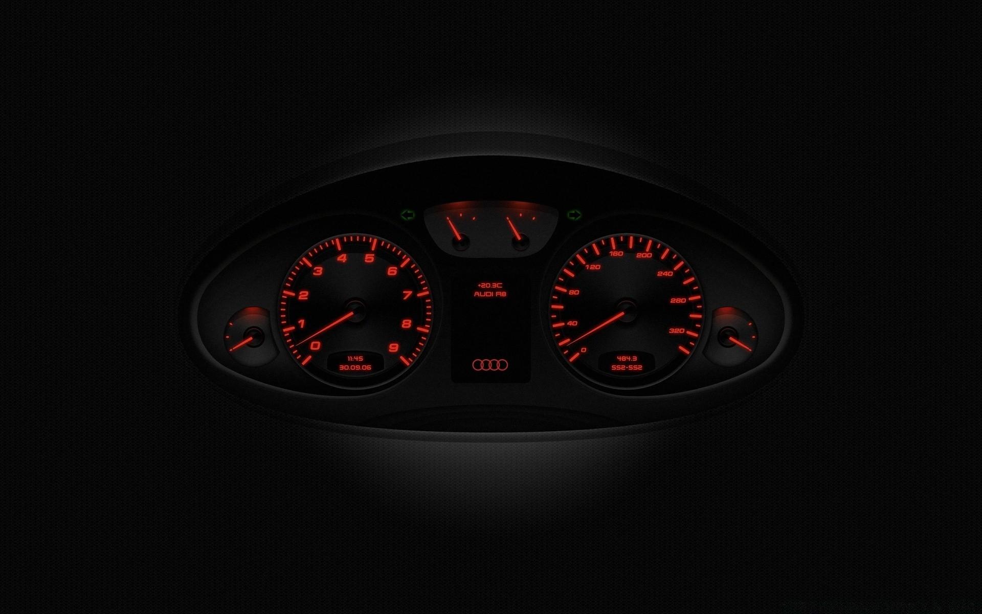 Audi R8 Speedometer - Free wallpapers
