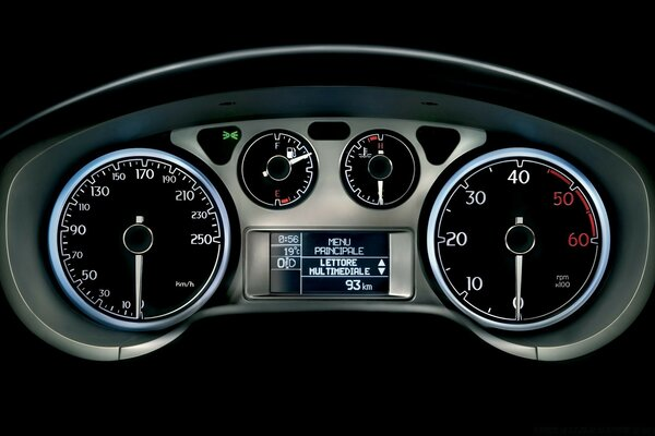 Tachometer And Speedometer 2