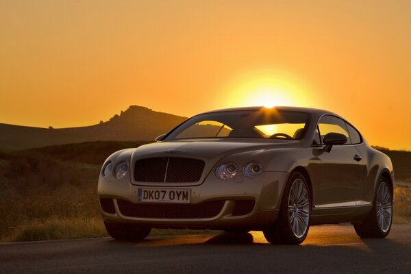 Bentley Continental GT Sunset