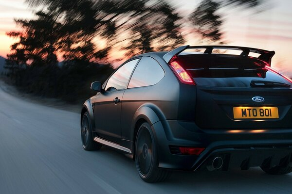 Ford Focus RS500 - Rear