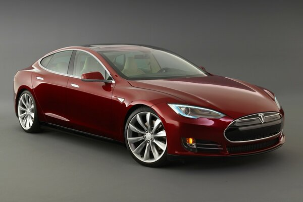 Tesla Model S Signature, Front View