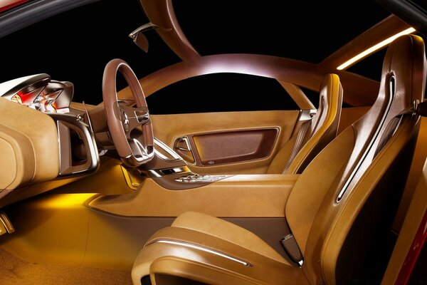 Luxury Car Interior 3