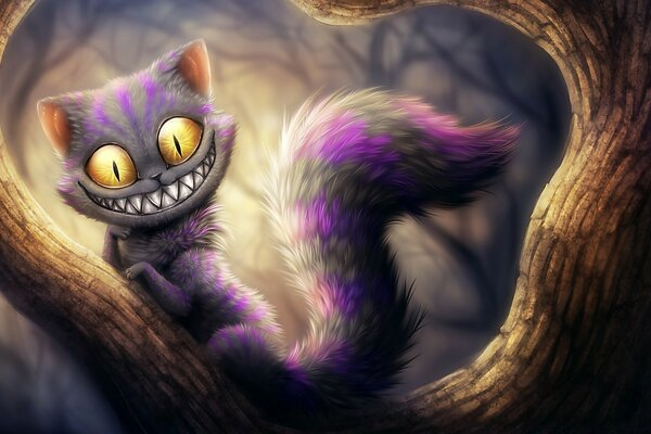 Cheshire Cat, Alice s Adventures in Wonderland
