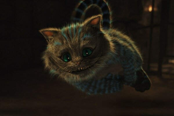 2010 Alice In Wonderland, Cheshire Cat