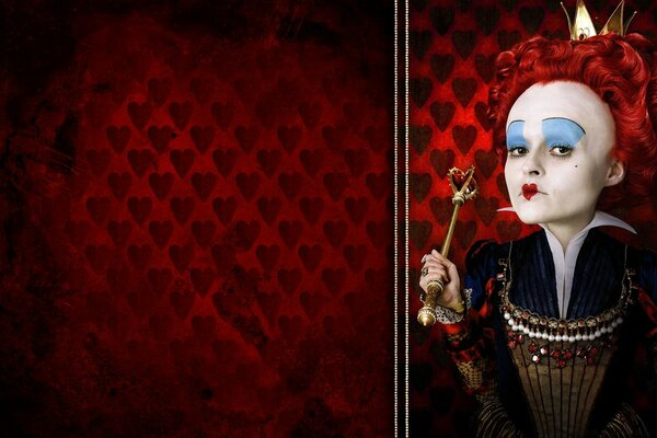The Red Queen, Alice In Wonderland