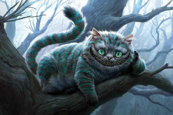 Cheshire Cat Artwork, Alice In Wonderland