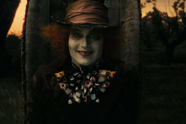 Mad Hatter, Alice In Wonderland (2010)