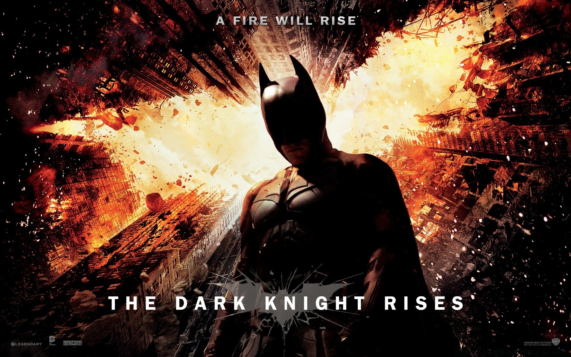 The Dark Knight Rises A Fire Will Rise Android Wallpapers