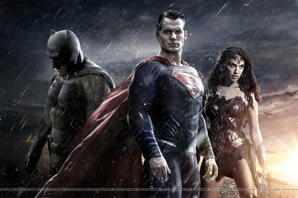 Batman Vs. Superman Vs. Wonder Woman