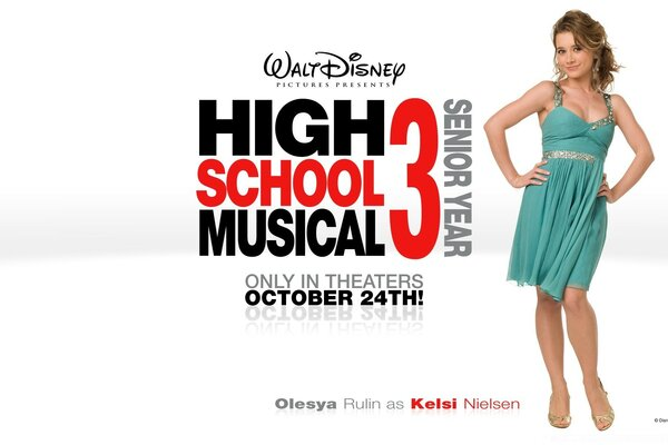 Olesya Rulin As Kelsi Nielsen High School Musical
