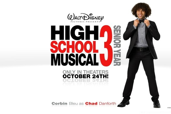 Corbin Bleu As Chad Danforth High School Musical