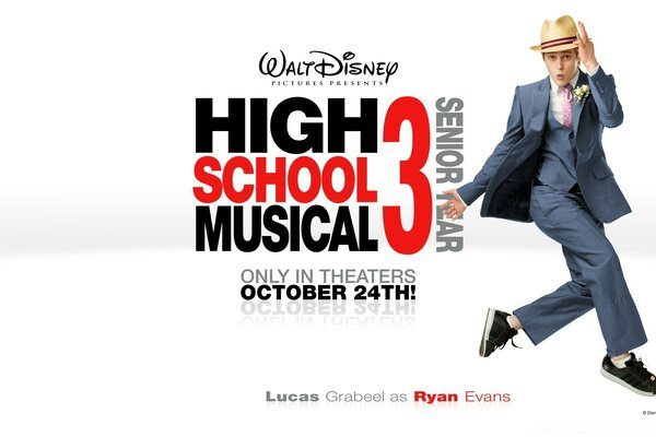Lucas Grabeel As Ryan Evans High School Musical