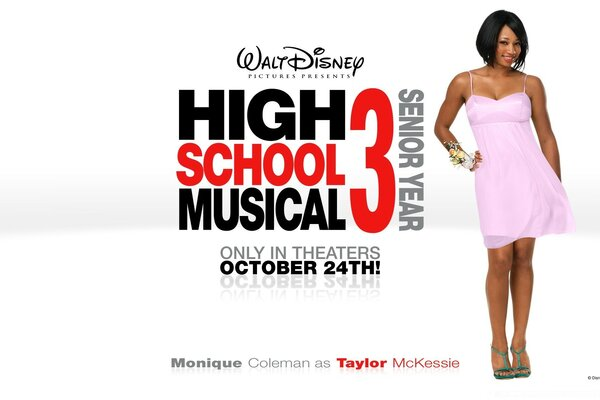 Monique Coleman As Taylor McKessie High School Musical