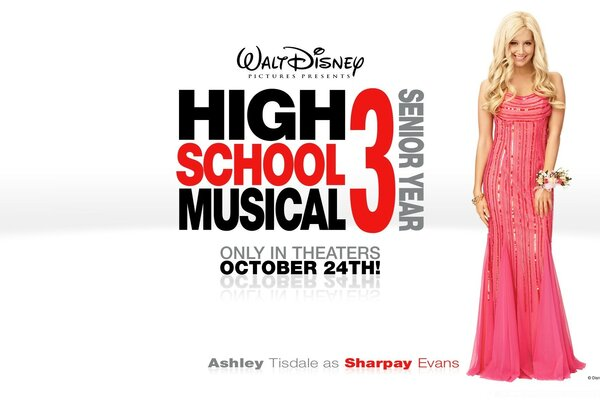 Ashley Tisdale As Sharpay Evans High School Musical