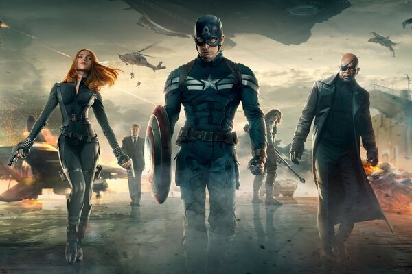 Captain America The Winter Soldier HD
