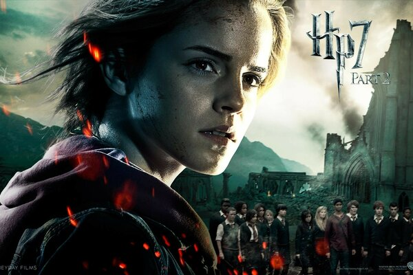 Harry Potter And The Deathly Hallows Part 2 Hermione