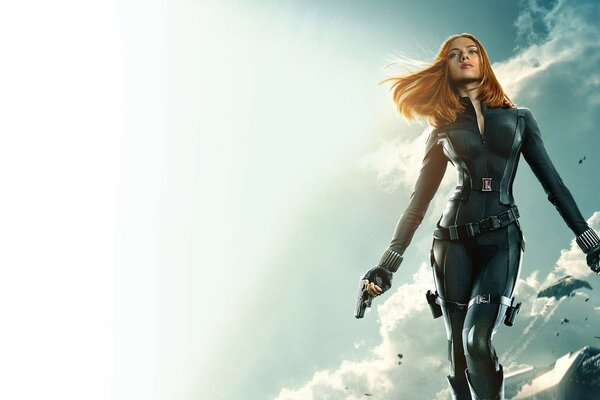 Captain America The Winter Soldier Black Widow 1080p
